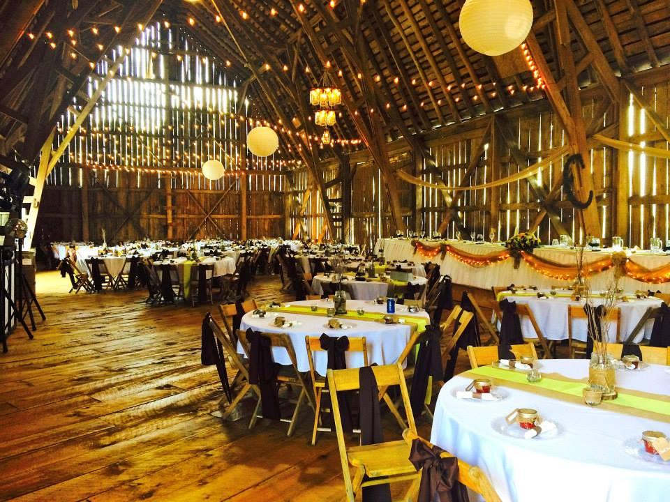 Michigan Barn Weddings - Crooked River Weddings - Barn ...